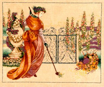 - My Lady's Garden - Cross Stitch Pattern
