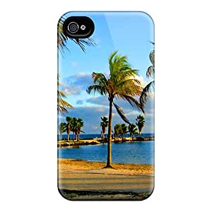 Fashionable Style Cases Covers Skin For Iphone 6plus- Miami Dolphins