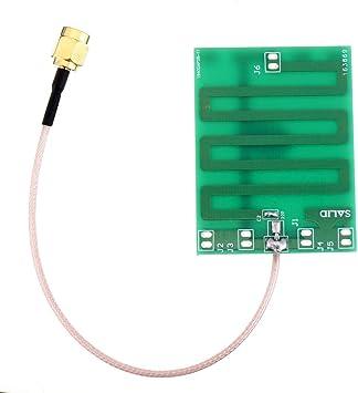 Componentes electrónicos manuales Antena 5cmx5cm con conector ...