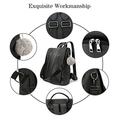 Bag Backpacks Theft School Fashion Women Backpack Black College Bookbag Anti nBfc8vSwq