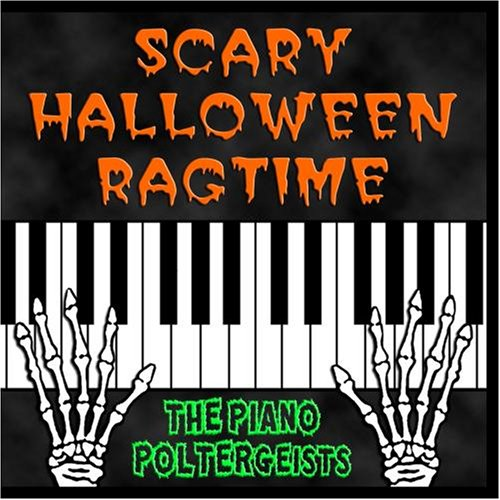 Scary Halloween Ragtime Music (Spooky Halloween Stories Cd)