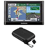 Garmin nuvi 55LM GPS Navigation System with Lifetime Maps 5″ Display Case Bundle – Includes 5″ Essential Series GPS Navigation System and Nuvi 5 inch Protect, Stow and Carry Soft Case For Sale