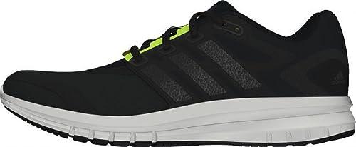 Buy Adidas Men's Brevard M Black, Dark Silver and Yellow Mesh ...