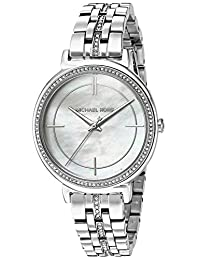 Michael Kors Women's 'Cinthia' Quartz Stainless Steel Casual Watch, Color:Silver-Toned (Model: MK3642)