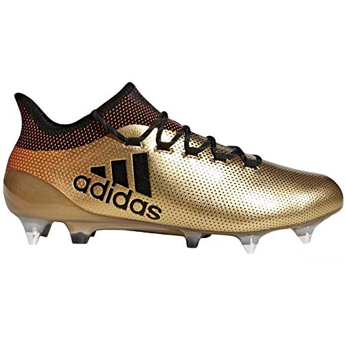 (adidas Performance Mens X 17.1 Soft Ground Sports Soccer Boots - Gold - 7.5)