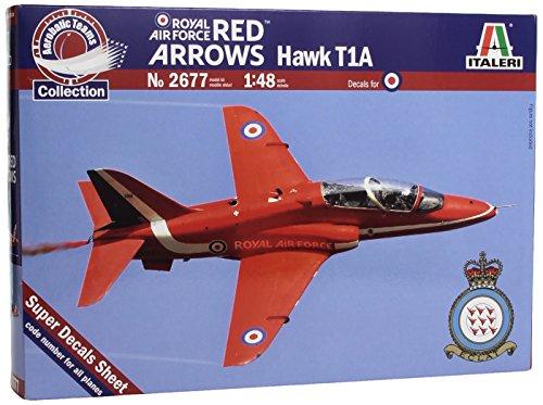 Italeri 2677 1:48 Hawk T1A RAF Red Arrows Aerobatic Teams Aircraft (Hawk Arrows Red)
