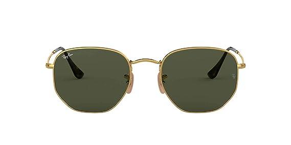 0697311087c Ray Ban RB3548N Sunglasses Gold Green Classic G-15  Amazon.co.uk  Clothing