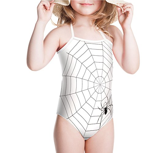 iPrint Swimsuit Thread Crawly Malicious Bug Halloween Character for 3-4ages for $<!--$20.88-->