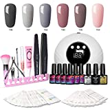 Modelones Gel Nail Polish Kit with UV Light - New Winter Series - Best Reviews Guide