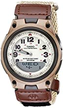 Casio Men's AW80V-5BV World Time DataBank 10-Year-Battery Watch