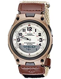 Casio Men's AW80V-5BV World Time DataBank 10-Year Battery Watch