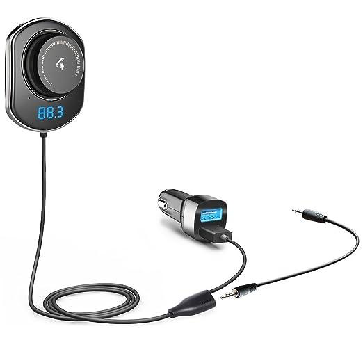 17 opinioni per Comsoon Kit Vivavoce per Auto Bluetooth, Trasmettitore FM Bluetooth con