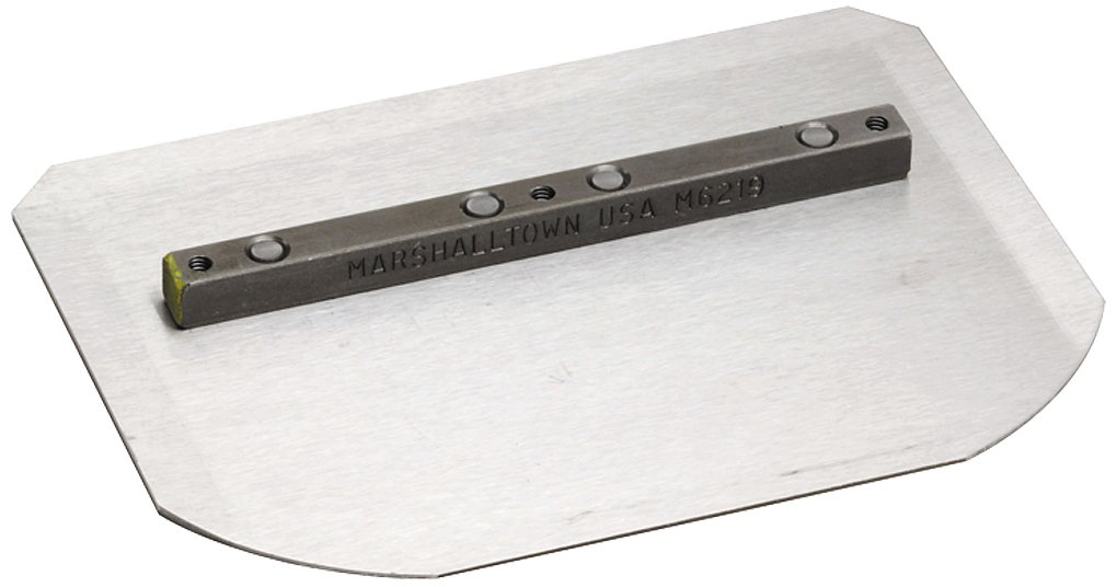 Marshalltown M7536  8-Inch by 14-Inch Combination Blade-Channel Mount 17536, 4-Pack
