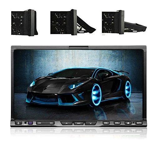"HD 7"" Car DVD CD Video Player High-quality! 2 Din In Deck Ca"