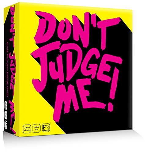 Don't Judge Me!! - The Adult Party Game to See How Your Friends Really Think