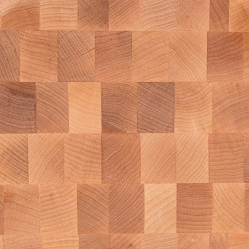 John Boos Maple Wood End Grain Reversible Butcher Block Cutting Board, 18'' x 18'' x by 2.25 Inches by John Boos (Image #1)
