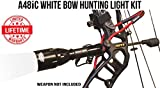Wicked Lights A48iC White Bow Hunting Light Kit for Bow Fishing, Predator & Hog Night Hunting