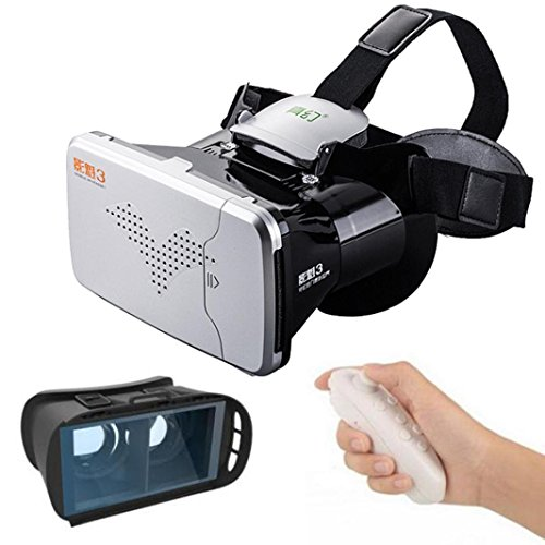 Nacome Google Cardboard WIFI RC Virtual Reality 3D VR BOX Google Glasses For Watching Movie and Playing 3d Games as well as Painting and Designing Via Tilt Brush