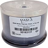 MAM-A 50-Pack 4.7V2 16X Silver DVD-R 30163131-50PK 120mm RecordableDigital Disc