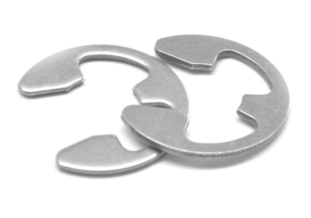 External E-Ring .094 E-Clip Stainless Steel 15-7 Pk 500