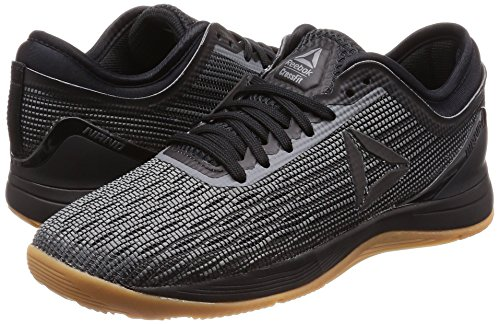 8 Reebok gum black 000 Fitness Chaussures R Crossfit Nano alloy Noir 0 De Femme gT6BTtf
