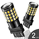 3157 3156 4057 LED Reverse Backup Bulb Extremely Bright, [2019 UPGRADED] Marsauto 52 SMD 3030/2835 Chipsets Back up Stop Tail Light Lamp Bulbs Replacement (Set of 2)