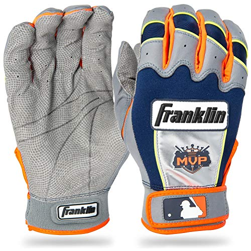 Franklin Sports MLB Youth Miguel Cabrera CFX Pro Signature Series Batting Glove, Pair, Medium, -