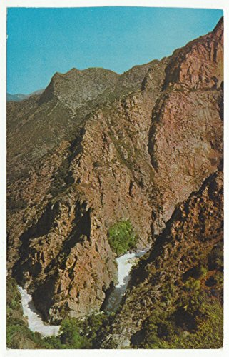 Kings Canyon, Cedar Grove, California Vintage Original Postcard #1636 - 1960's
