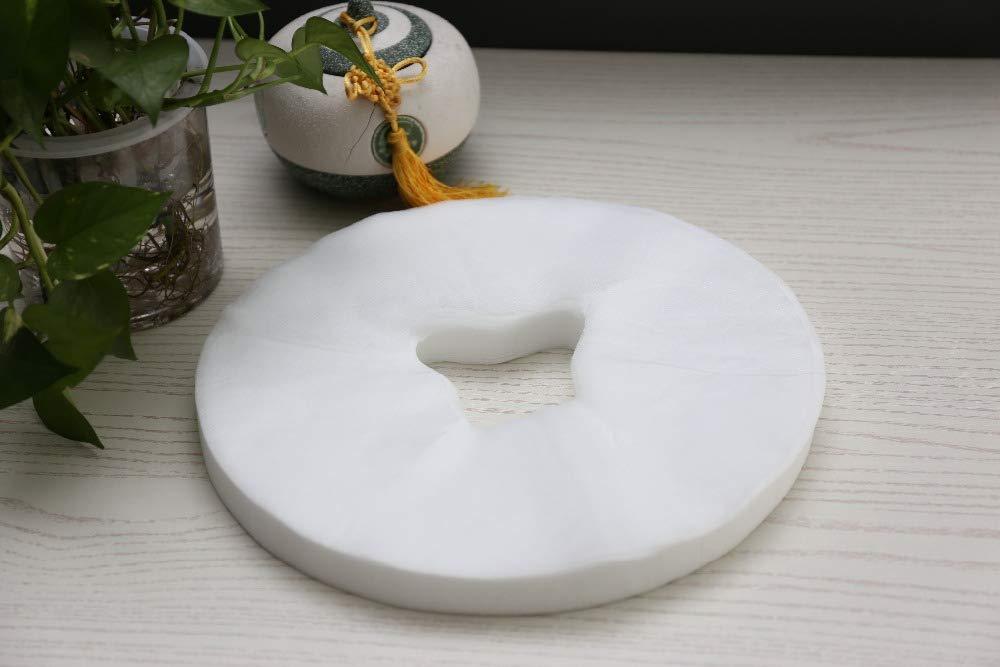 SYH01 1Pcs Soft SPA Gel Pad Rest Overlay Silicone Massag Pillow Face Cradle Cushion Neck Back Heat Massager Pillow Massage Shiatsu Head