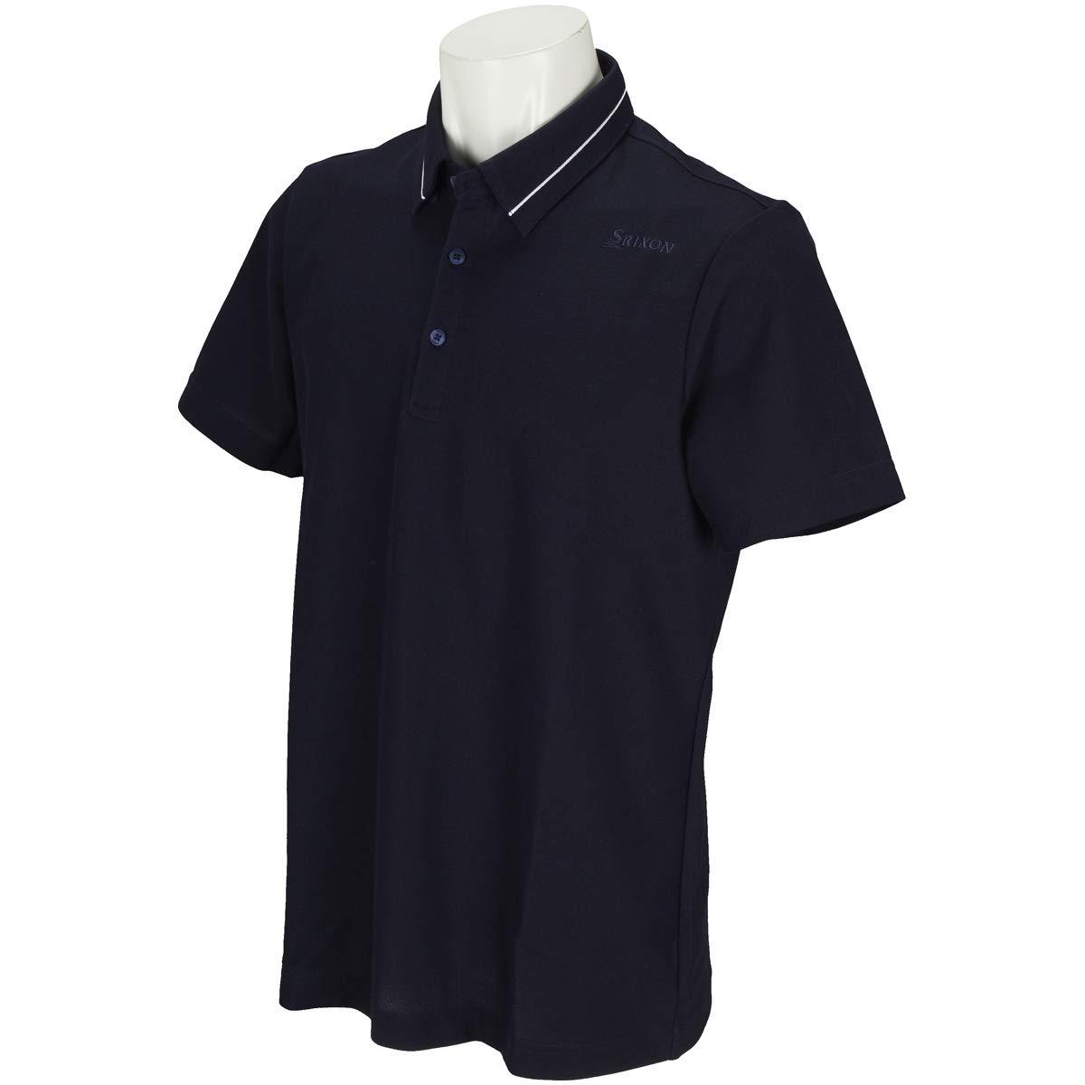 スリクソンゴルフ SRIXON 半袖シャツポロシャツ 半袖ポロシャツ ネイビー NV00 3L   B07P45CJL3