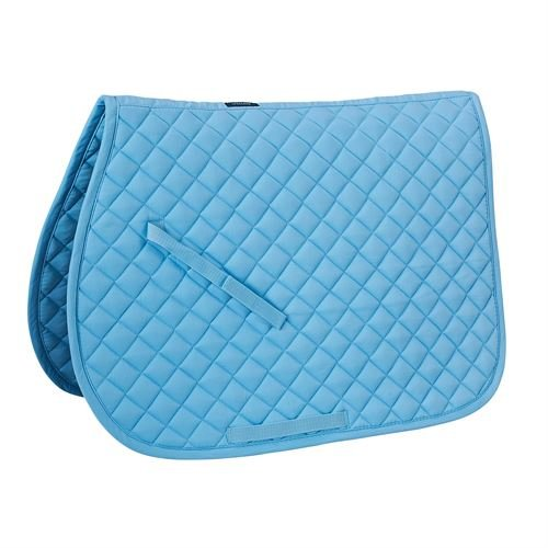 Rider's by Dover Saddlery Quilted Pad - Light Blue , (Saddlery Pads)