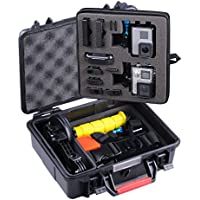 Smatree SmaCase GA500 Floaty/Water-Resist Hard Case for Gopro Hero 6,5,4, 3+, 3, 2, 1 (Camera and Accessories NOT included)
