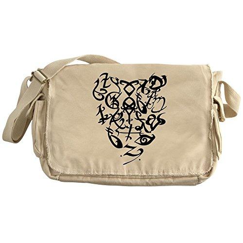 CafePress - A Shadowhunter(S) Heart - - Unique Messenger Bag, Canvas Courier Bag