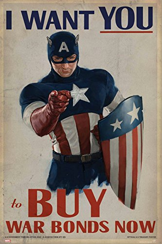 POP Home Store Captain America 2-The Winter Soldier Movie Poster s Pictures Wall 24X36 Inch (Captain America The Winter Soldier Online)
