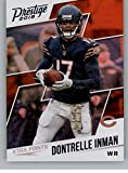 #1: 2018 Panini Prestige NFL XTRA Points Purple (Fat Pack Exclusive) #6 Dontrelle Inman Chicago Bears