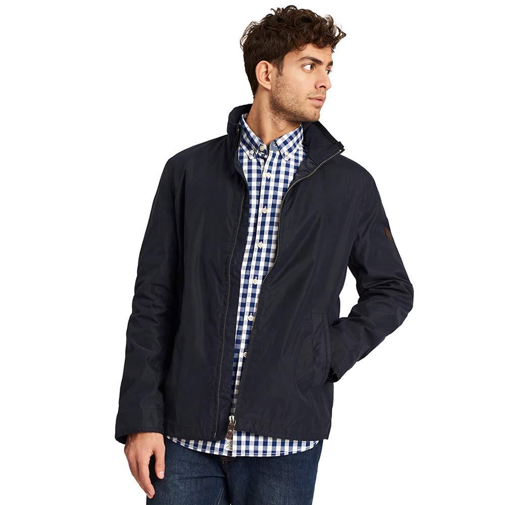 Joules Mens Hillway Lightweight Adjustable Short Bomber Jacket Coat
