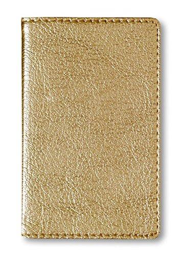 Adressbuch Mini Glamour Gold - Notizbuch / Taschenplaner (6, 5 x 10, 5) - 112 Seiten Taschenbuch – 1. Juni 2011 Alpha Edition 3840709261 Sonstiges (Adreßbücher Alben