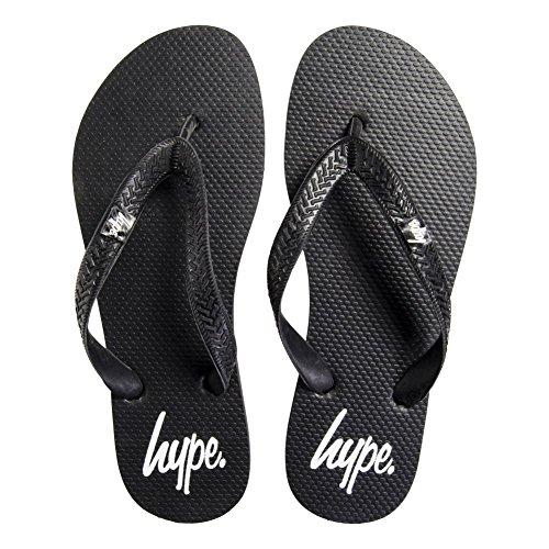 Hype Flip Flops (Schwarz) Schwarz