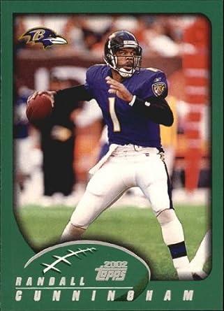 7427904d Amazon.com: 2002 Topps Football Card #216 Randall Cunningham Near  Mint/Mint: Collectibles & Fine Art