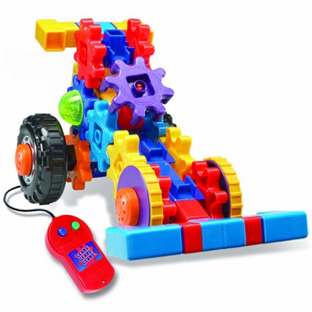 Gears! Gears! Gears! Motorized on the Move Building Set