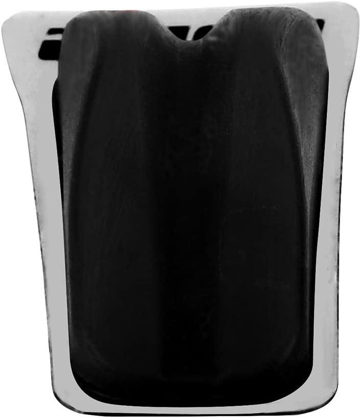 4 piezas de amortiguador de arco de goma para amortiguador de amortiguador de arco para cuna rojo amarillo suave negro Tbest Silenciador de cuerda de arco Silencer