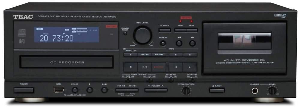 Teac AD-RW900-B CD Recorder and Auto Reverse...
