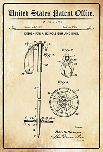 Cartel de Chapa 30 x 20 cm U.S. Patent Office. - Diseño para ...