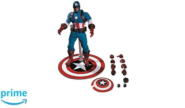 Marvel 76251 - Figura de coleccionista del Capitán América Moderno, Escala 1:12: Amazon.es: Juguetes y juegos