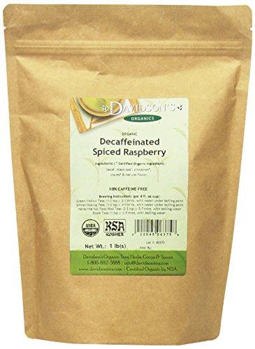 Davidson's Tea Bulk, Decaf. Spiced Raspberry, 16-Ounce Bag