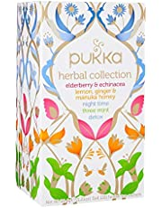 Pukka Organic Herbal Collection,20 Herbal Tea Sachets, 34.4g