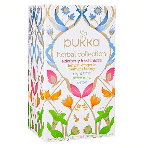 Pukka Herbal Collection Tea - 20 Bags (Pukka Sampler)