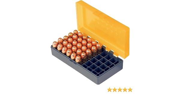Smartreloader - Caja para munición #11 del calibre 9 x 19 / 9 x 21 - .380 - Ideal para coche (50 disparos): Amazon.es: Deportes y aire libre
