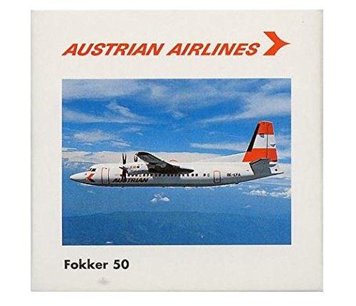 Herpa 509237 Austrian Airlines Fokker F-50 1:500 Scale Diecast