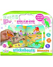 Fiesta Crafts Stickabouts Dinosaurs, Multi-Colour, T-2827